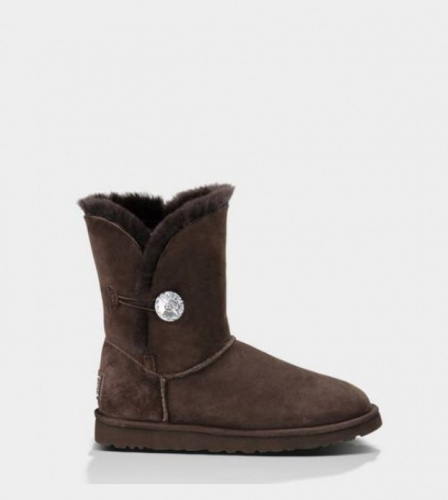 UGG BAILEY BLING CHOCOLATE