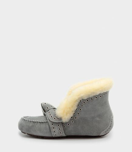 UGG SLIPPERS POLER GREY фото 3