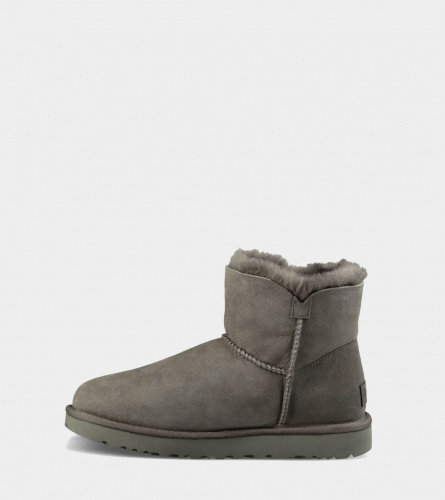 UGG BAILEY BUTTON MINI II WATERPROOF GREY фото 2