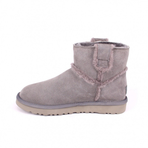 UGG CLASSIC MINI SPEEL SEAM GREY фото 2