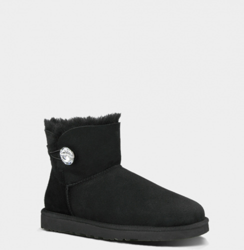 UGG BAILEY BLING MINI BLACK фото 2