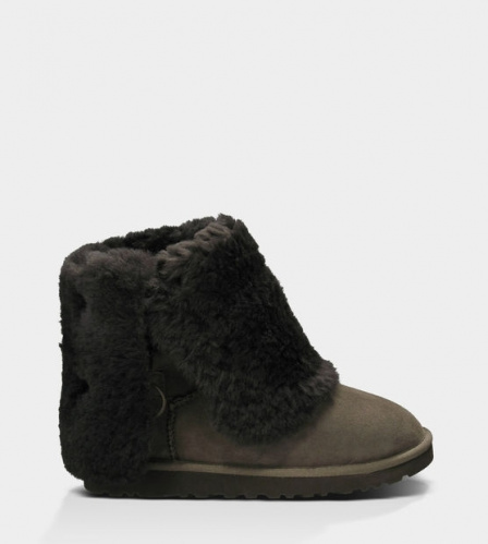 UGG BAILEY BUTTON TRIPLET TALL II WATERPROOF CHOCOLATE фото 4