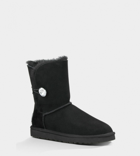 UGG BAILEY BLING BLACK фото 2