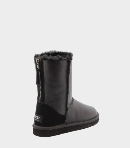 UGG ZIP METALLIC BLACK фото 2