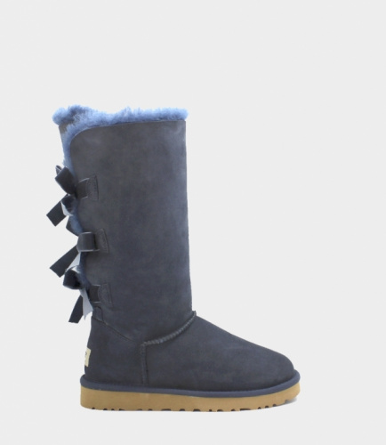 UGG BAILEY BOW TALL II WATERPROOF NAVY