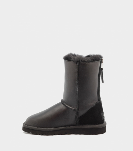 UGG ZIP METALLIC BLACK фото 3