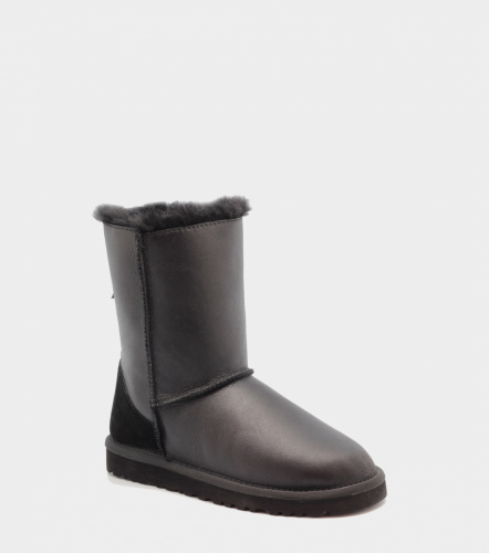 UGG ZIP METALLIC BLACK фото 4
