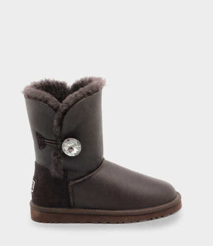 UGG BAILEY BLING METALLIC СHOCOLATE