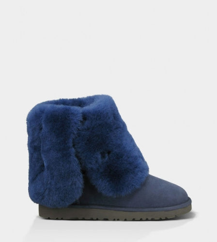 UGG BAILEY BUTTON TRIPLET TALL II WATERPROOF NAVY фото 4