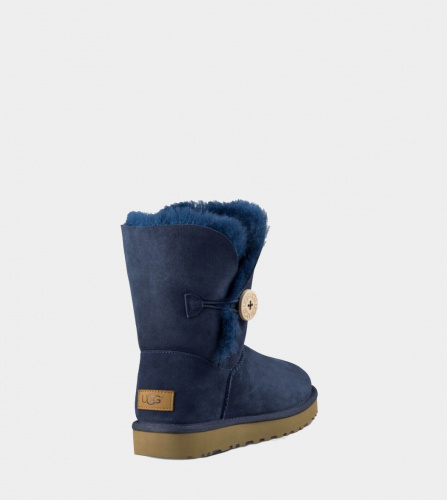 UGG BAILEY BUTTON II WATERPROOF NAVY фото 3