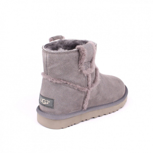UGG CLASSIC MINI SPEEL SEAM GREY фото 3
