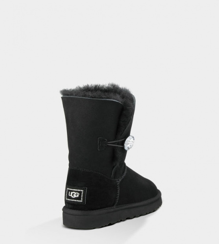 UGG BAILEY BLING BLACK фото 3