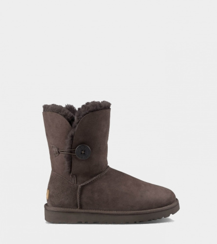 UGG BAILEY BUTTON II WATERPROOF CHOCOLATE