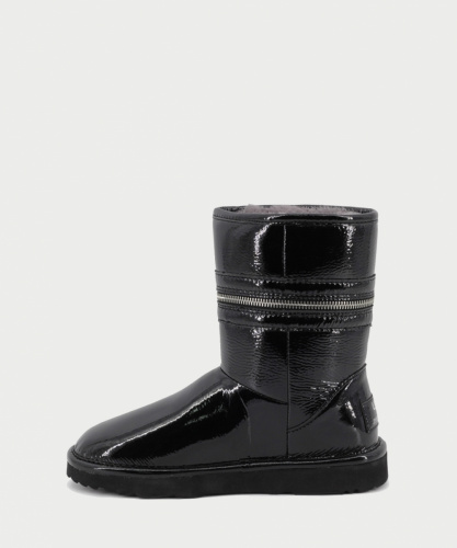 UGG & JIMMY CHOO ZIPPER BLACK фото 3