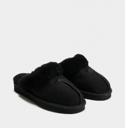 UGG COQUETTE SLIPPER BLACK фото 3