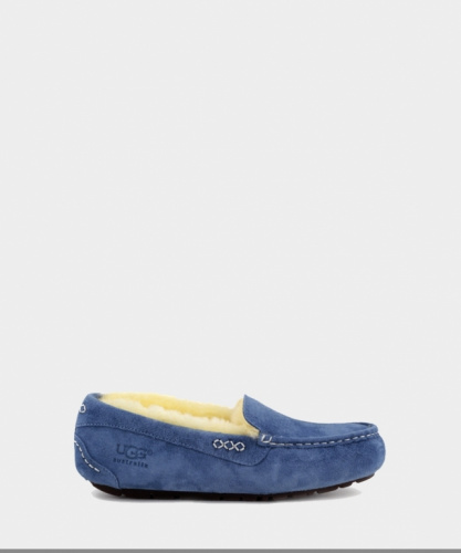 UGG ANSLEY SLIPPERS NAVY