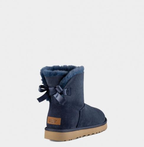 UGG BAILEY BOW MINI II WATERPROOF NAVY фото 2