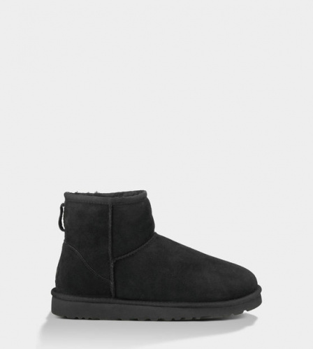 UGG CLASSIC MINI BLACK MEN фото 2