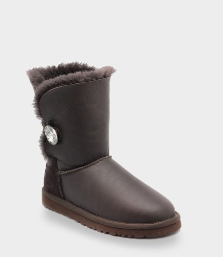 UGG BAILEY BLING METALLIC СHOCOLATE фото 2