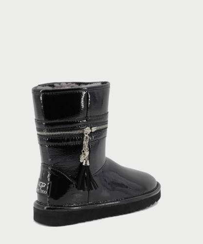 UGG & JIMMY CHOO ZIPPER BLACK фото 4