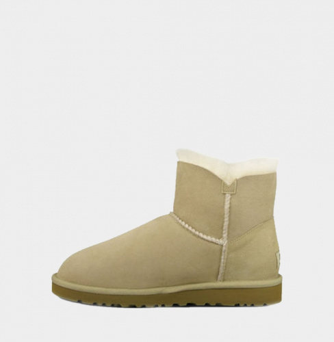 UGG BAILEY BUTTON MINI II WATERPROOF SAND фото 3