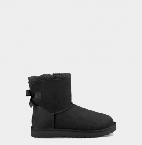 UGG BAILEY BOW MINI II WATERPROOF BLACK