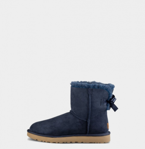 UGG BAILEY BOW MINI II WATERPROOF NAVY фото 3