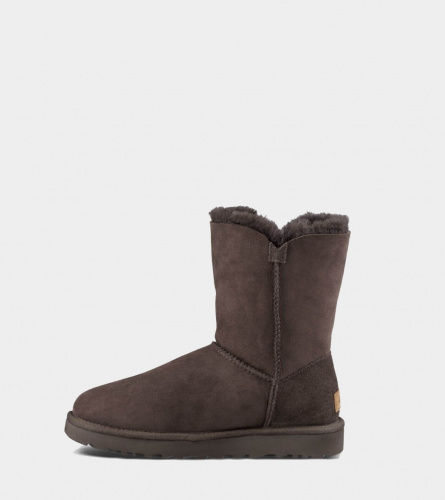 UGG BAILEY BUTTON II WATERPROOF CHOCOLATE фото 3