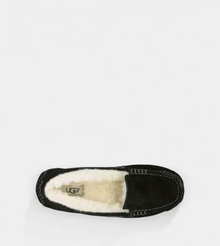 UGG ANSLEY SLIPPERS BLACK фото 4
