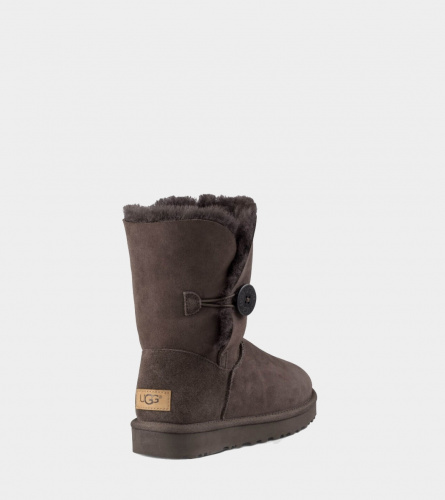 UGG BAILEY BUTTON II WATERPROOF CHOCOLATE фото 4
