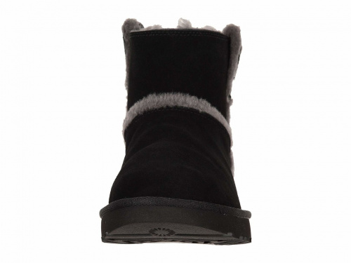 UGG CLASSIC MINI SPEEL SEAM BLACK фото 3