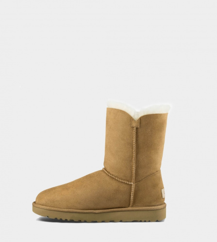 UGG BAILEY BUTTON II WATERPROOF CHESTNUT фото 4