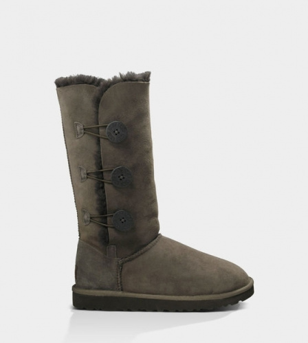 UGG BAILEY BUTTON TRIPLET TALL II WATERPROOF CHOCOLATE