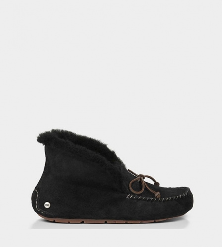 UGG ALENA SLIPPERS BLACK