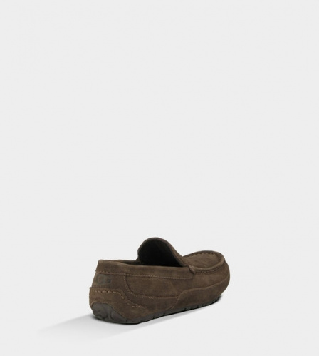 UGG ASCOT SLIPPERS CHOCOLATE MEN фото 3