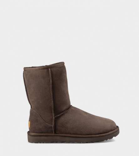 UGG CLASSIC SHORT II WATERPROOF KIDS CHOCOLATE
