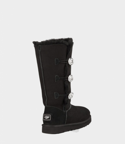 UGG BAILEY BLING TRIPLET TALL BLACK фото 3