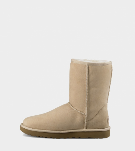 UGG CLASSIC SHORT II WATERPROOF KIDS SAND фото 3
