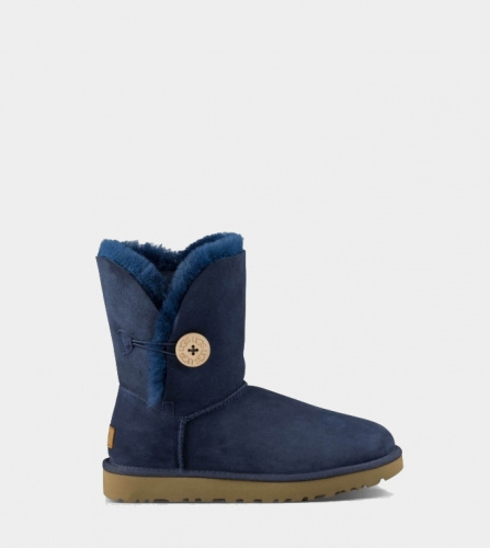 UGG BAILEY BUTTON II WATERPROOF NAVY
