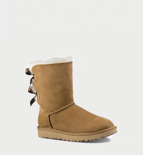 UGG BAILEY BOW II WATERPROOF KIDS CHESTNUT фото 3