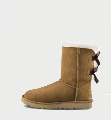 UGG BAILEY BOW II WATERPROOF KIDS CHESTNUT фото 4