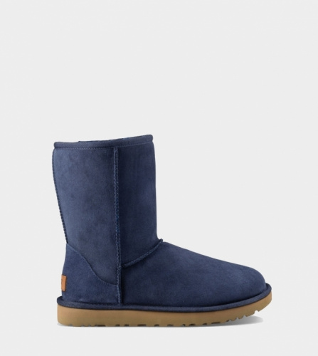UGG CLASSIC SHORT II WATERPROOF KIDS NAVY