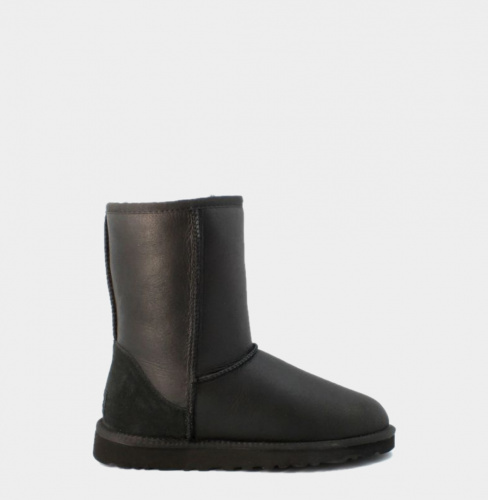 UGG METALLIC KIDS BLACK фото 2