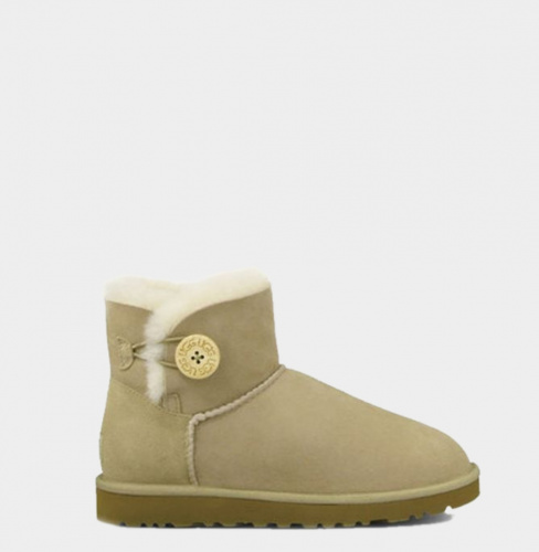 UGG BAILEY BUTTON MINI II WATERPROOF SAND