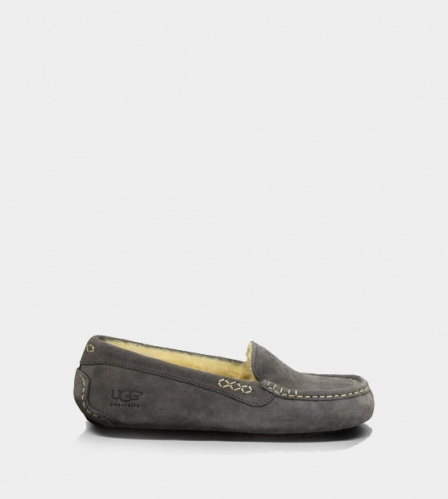 UGG ANSLEY SLIPPERS GREY
