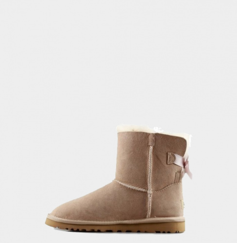 UGG BAILEY BOW MINI II WATERPROOF SAND фото 3