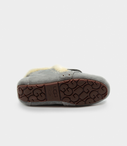 UGG SLIPPERS POLER GREY фото 5