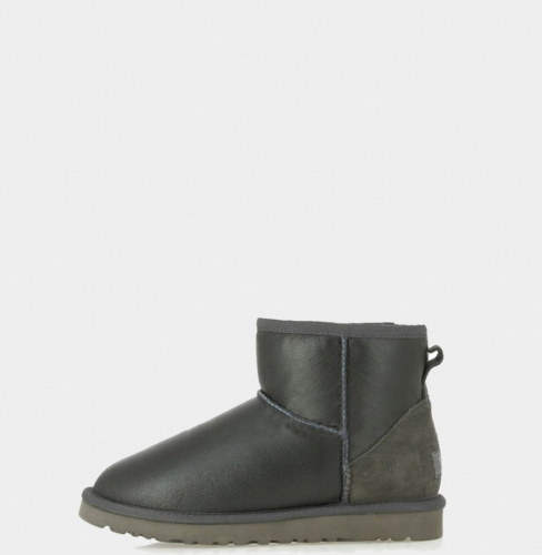 UGG METALLIC MINI GREY фото 2