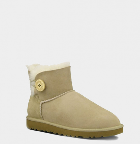 UGG BAILEY BUTTON MINI II WATERPROOF SAND фото 2