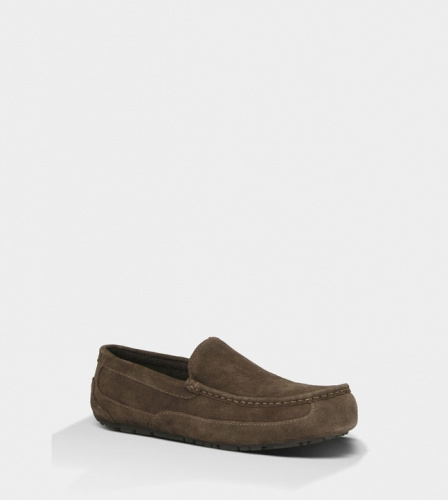 UGG ASCOT SLIPPERS CHOCOLATE MEN фото 2